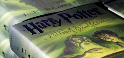 "Cover of ""Half-Blood Prince."""