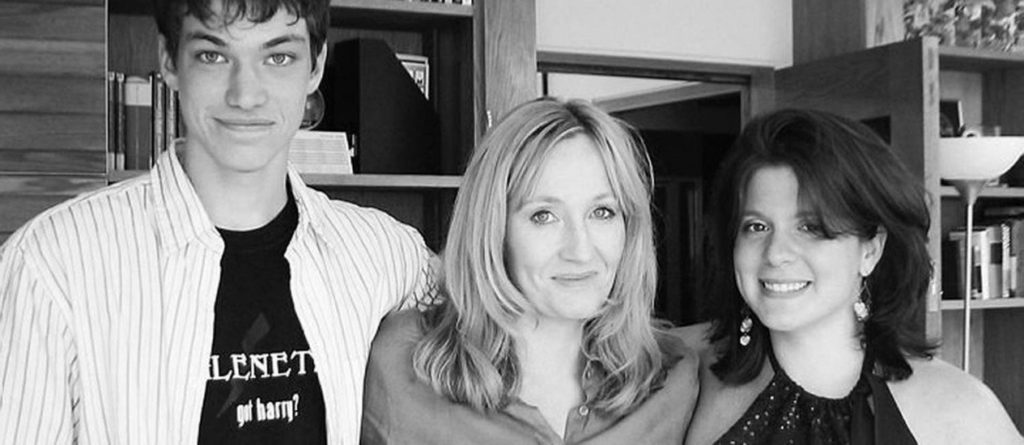 Emerson, Melissa, and JK Rowling
