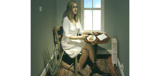 Portrait of J.K. Rowling painted by Stuart Pearson Wright in 2005.