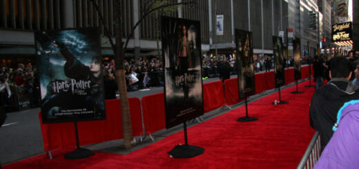 Red Carpet in New York City at the Premiere of Goblet of Fire