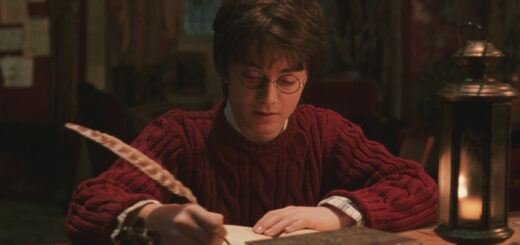 """Harry Potter writing in Tom Riddle's Diary in """"Chamber of Secrets"""""""