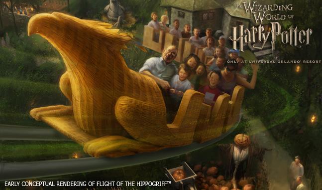 WWoHP Hogsmeade Concept Art Hippogriff1
