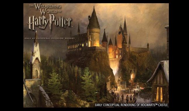 WWoHP Hogsmeade Concept Art Hogwarts1