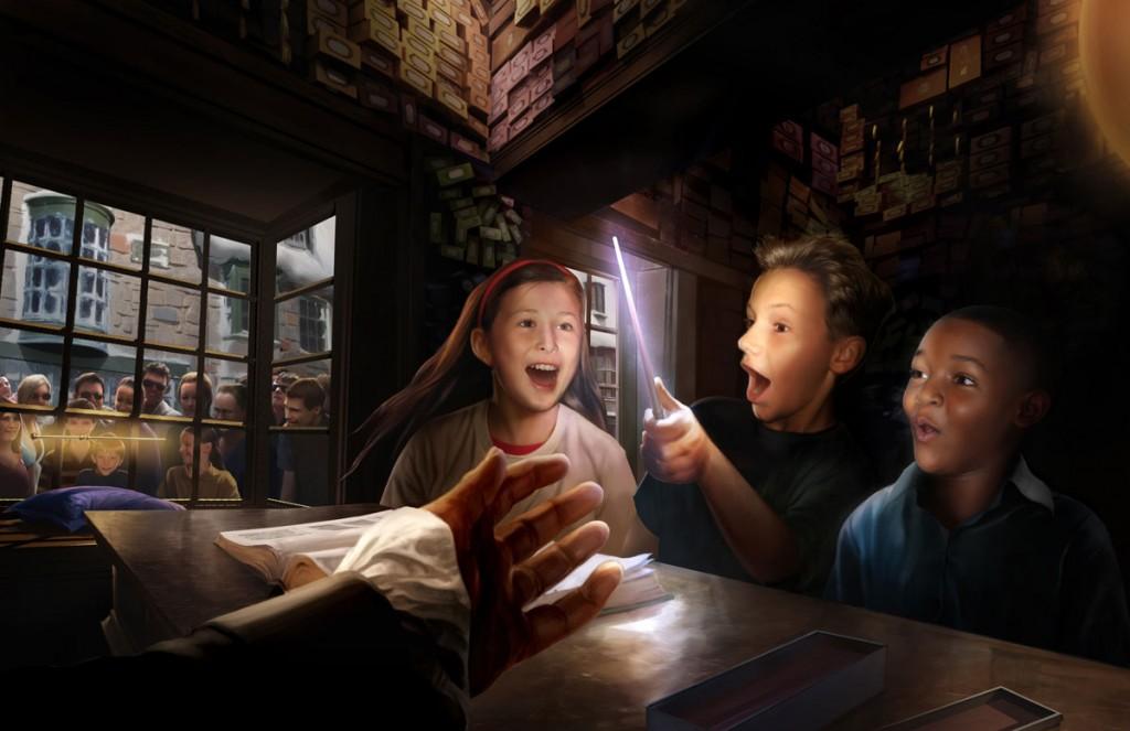 WWoHP Hogsmeade Concept Art Ollivanders2