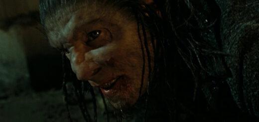 Fenrir Greyback killing Lavender Brown in Deathly Hallows Part 2