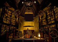 Dumbledore's office at Universal Studios
