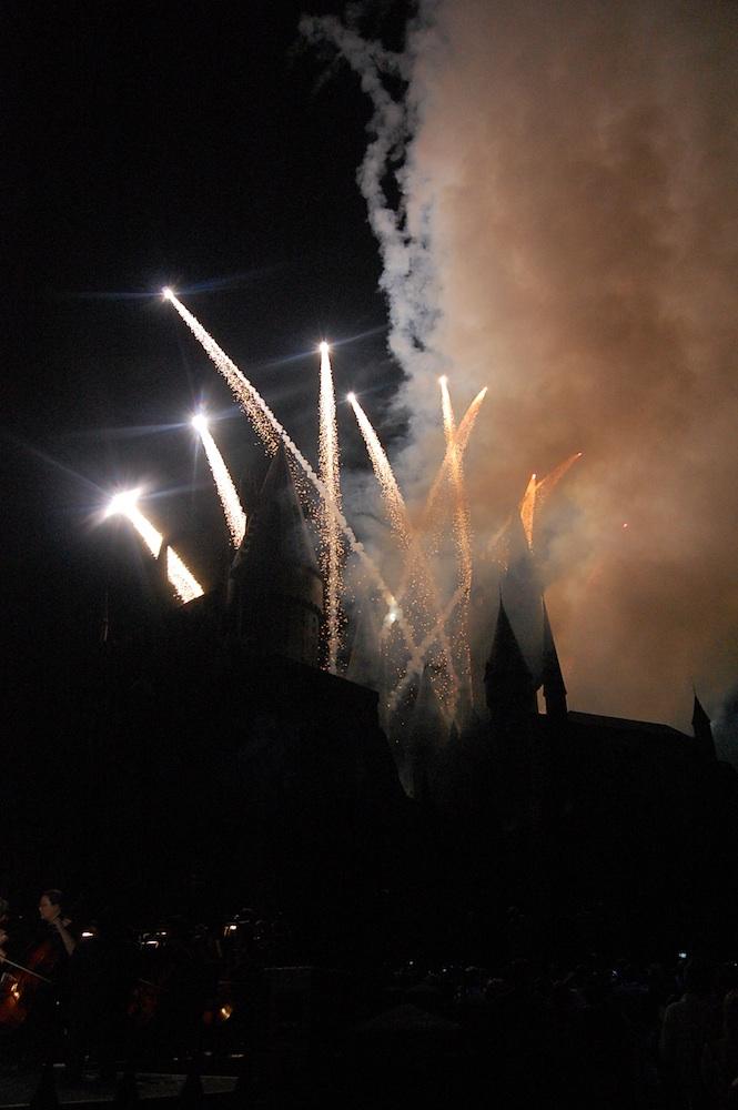 WWoHP Hogsmeade Grand Opening Castle4