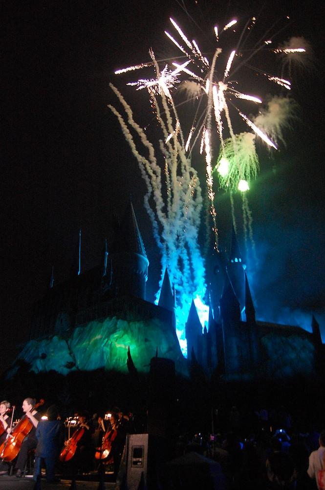 WWoHP Hogsmeade Grand Opening Castle7
