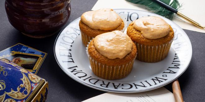 Pumpkin Pasty Cupcakes