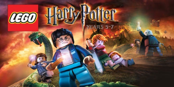 """This is a picture of the banner of LEGO """"Harry Potter Years 5-7"""""""