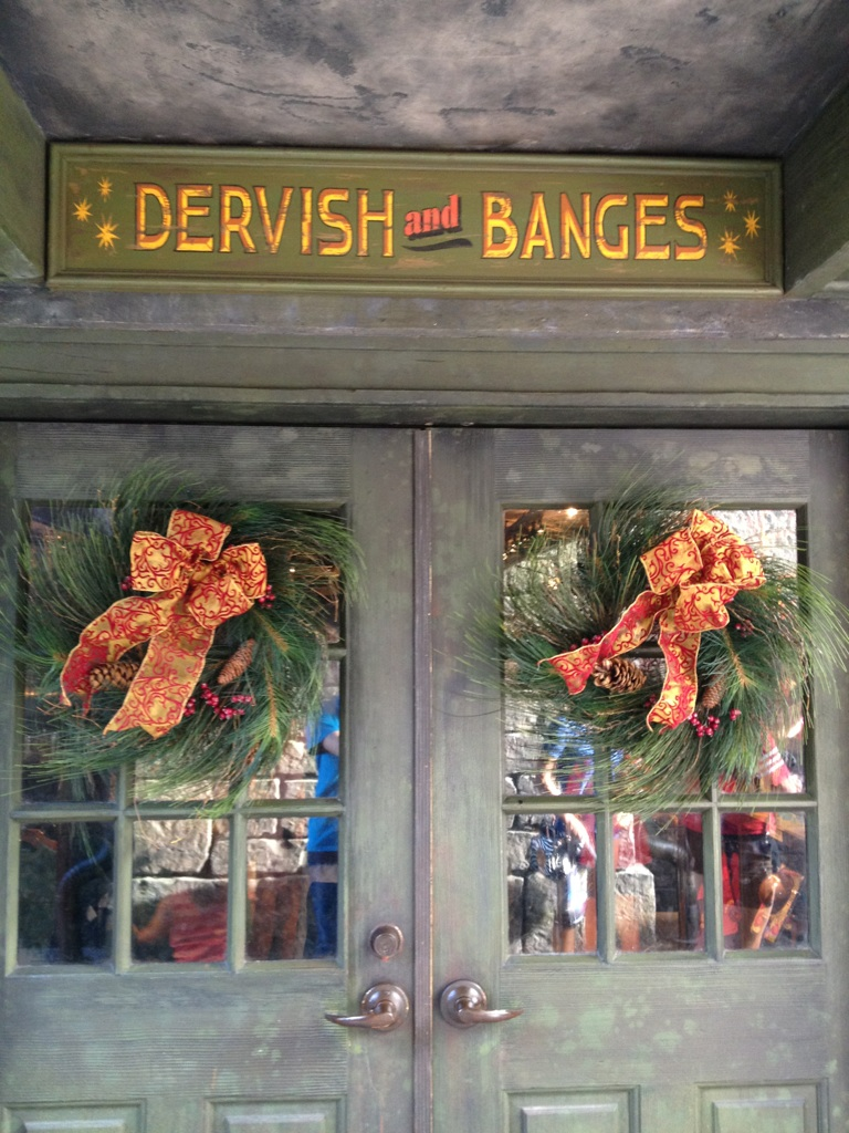 Dervish and Bangs Wreath
