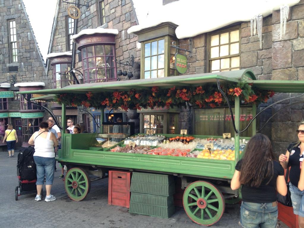 Hogsmeade Food Cart