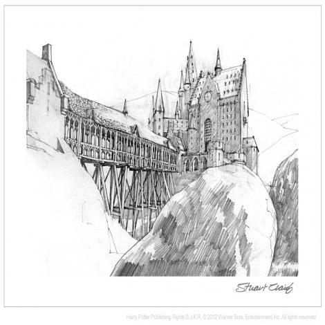 Stuart Craig Sketch
