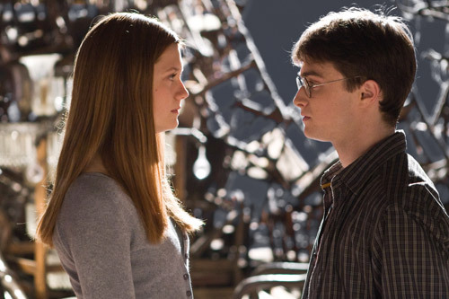 Ginny and Harry alone