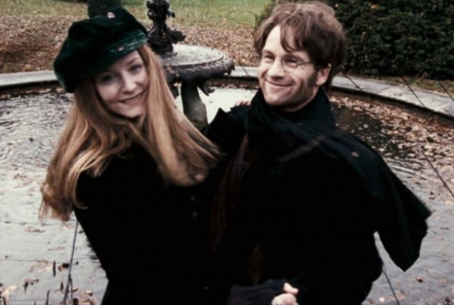 Lily and James dancing