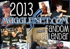MuggleNet Fandom Calendar 2013