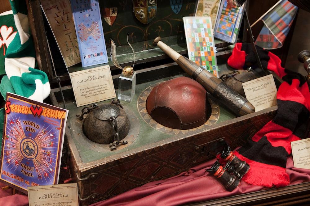 hp exhibition quidditch trunk