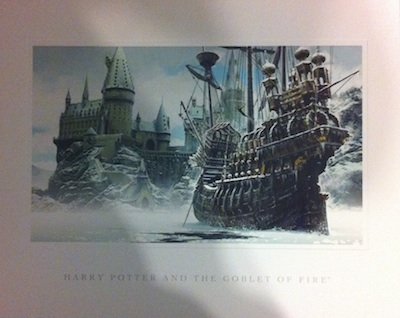 wizards collection durmstrang ship illustration
