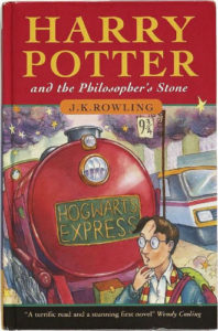 Philosopher's Stone Front Cover - First Edition