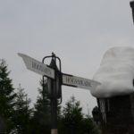 A Hogsmeade sign