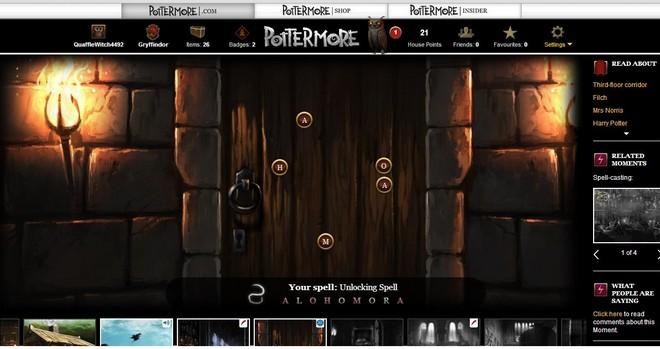pottermore ch 9 art of the locked door to the forbidden corridor