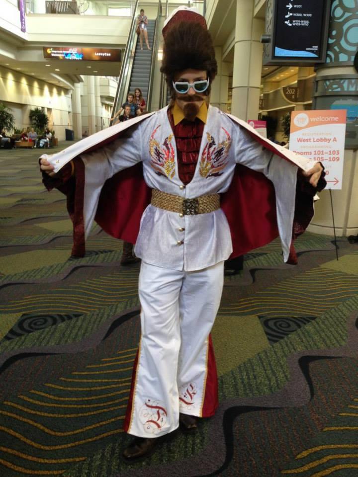 LeakyCon 2014 - Elvis Dumbledore
