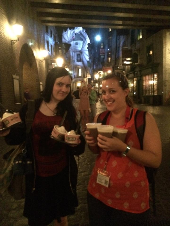 LeakyCon 2014 - Ice cream Butterbeer