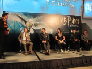 James and Oliver Phelps Hp Expo Singapore