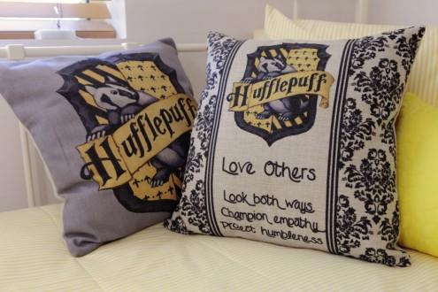 Hufflepuff pillows
