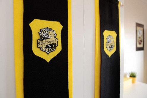 Hufflepuff banners