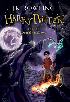 """Book Cover of """"Harry Potter and the Deathly Hallows"""" US edition"""