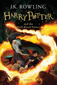 """""""Harry Potter and the half-Blood Prince"""" book cover"""