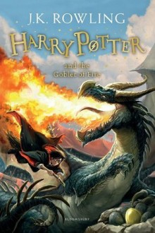 """""""Harry Potter and the Goblet of Fire"""" book cover US edition"""