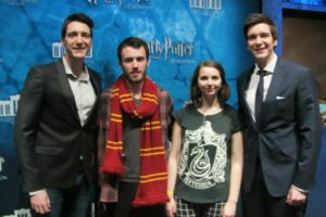 James/Oliver Phelps (HP Expo Paris, France)