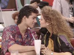 Jessie Spano and Slater