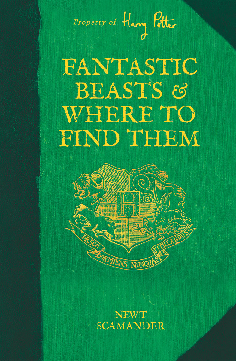 "Front cover of ""Fantastic Beasts and Where to Find Them"""