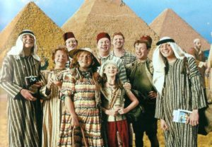 weasley-family-egypt