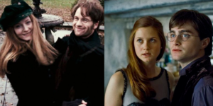 Lily, James, Harry, Ginny