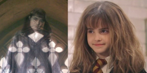 Myrtle and Hermione