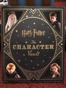 Character vault book cover