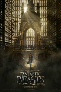 Fantastic Beasts and Where to Find Them Poster Official