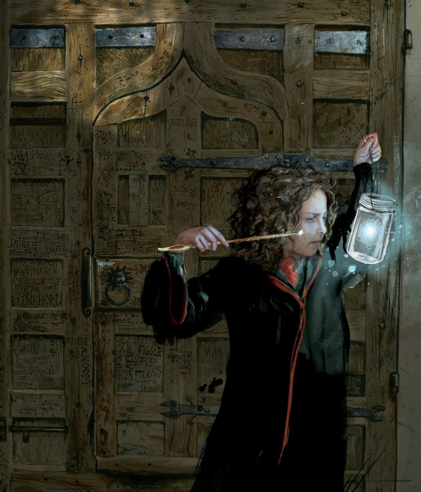 Hermione Granger illustration