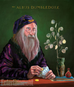 Jim Kay Illustrated Dumbledore