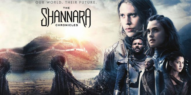 "This is the poster for ""The Shannara Chronicles""."