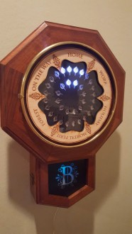 finished clock