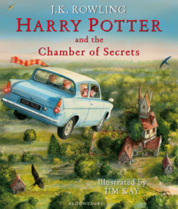 Harry Potter and the Chamber of Secrets Illustrated UK edition
