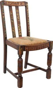 JK Rowling Harry Potter chair