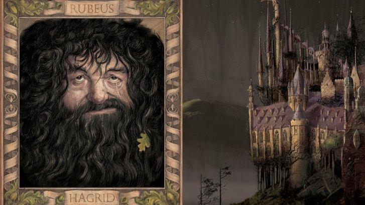 Rubeus Hagrid illustration