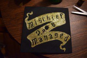 Final pattern for the diy Potter graduation cap