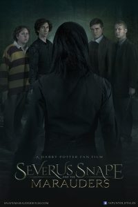Severus Snape facing the Marauders in the fan made film